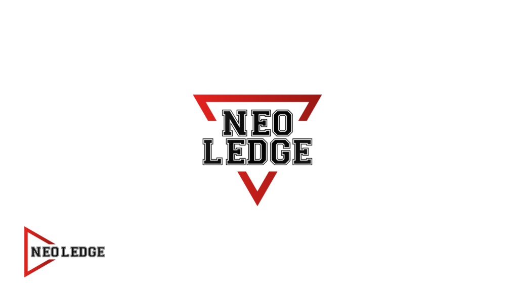 This logo uses a triangle cut in the middle to fit the name in. The Color red is used because its a bright, energetic fun and youthful color.